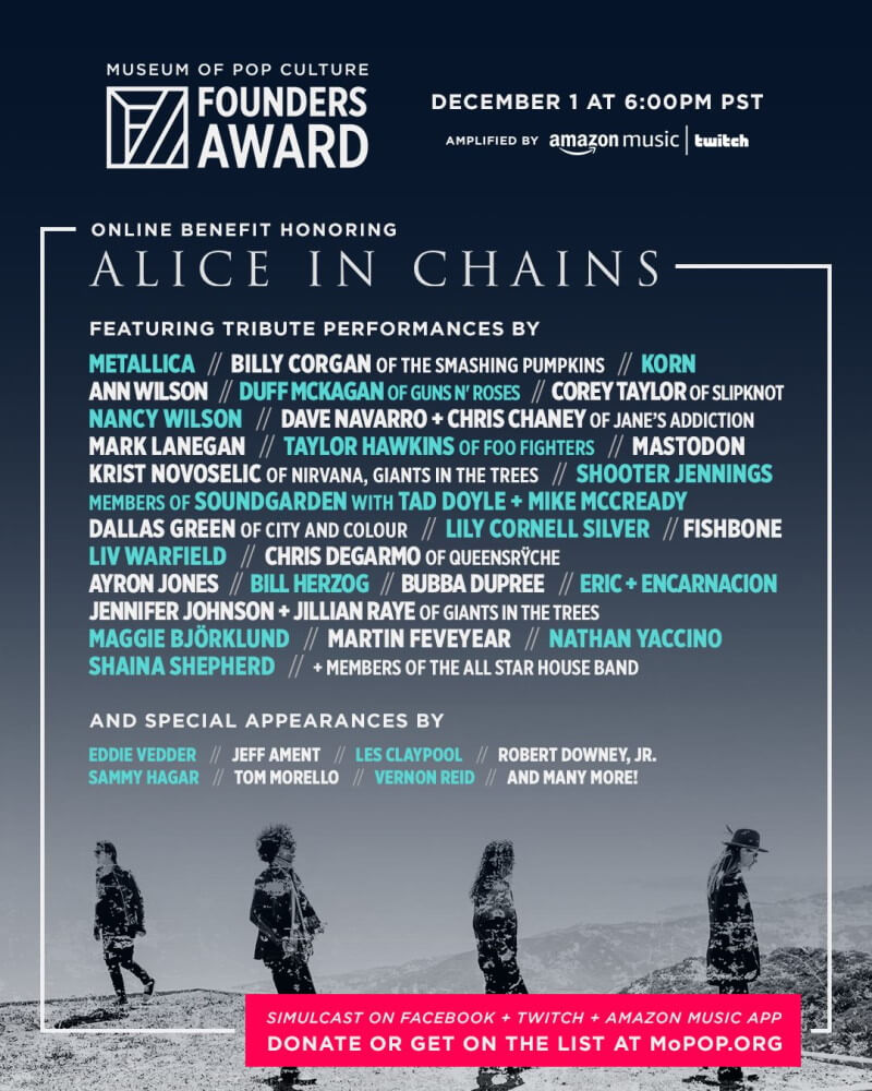 Homenagem ao Alice In Chains em Seattle
