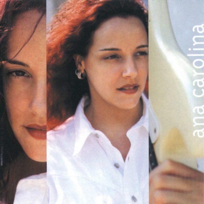 Ana Carolina e a capa do disco de estreia