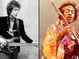Bob Dylan e Jimi Hendrix
