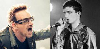 Bono e Ian Curtis
