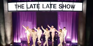BTS se apresenta no The Late Late Show com James Corden