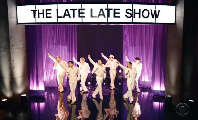 BTS se apresenta no The Late Late Show com James Corden