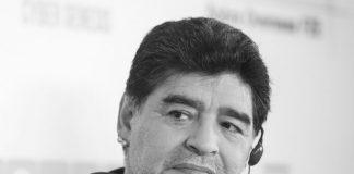 Diego Maradona em 2018