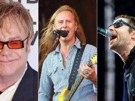 Elton John, Alice in Chains e Liam Gallagher farão lives
