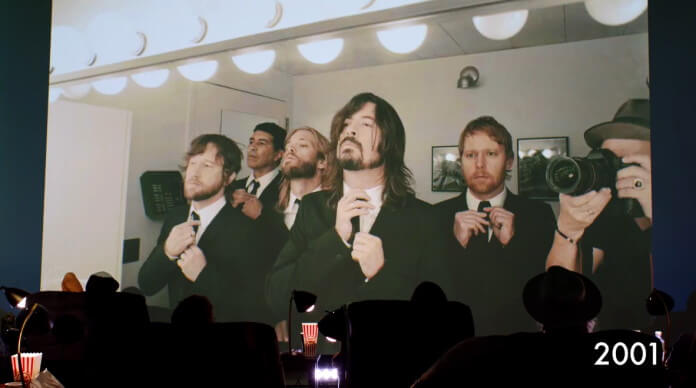 Foo Fighters no backstage de David Letterman