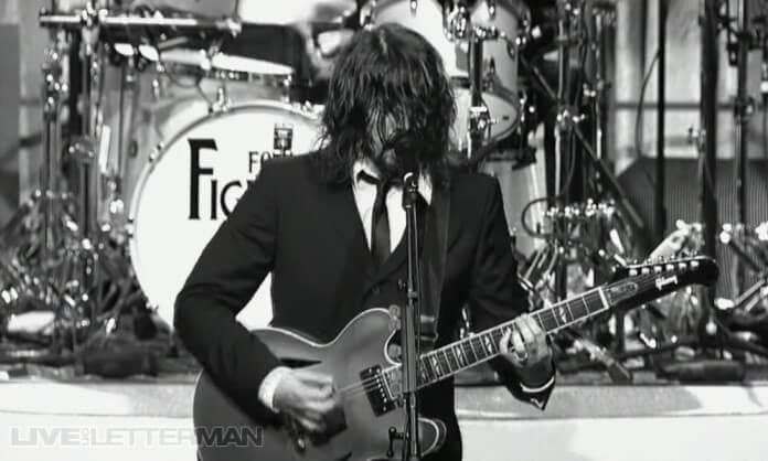 Foo Fighters de Beatles no programa de David Letterman