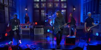 Foo Fighters no Saturday Night Live
