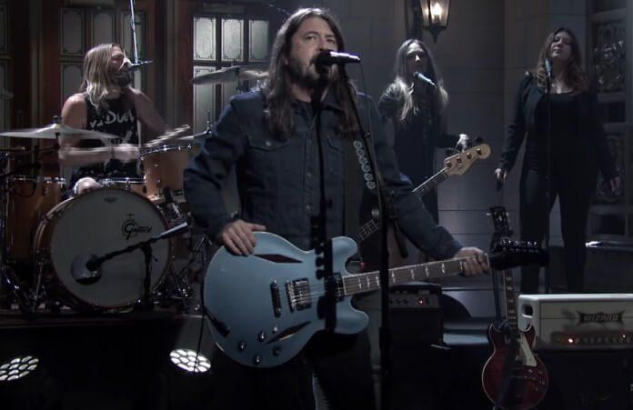 Foo Fighters no Saturday Night Live, 2020