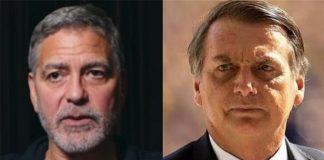 George Clooney faz críticas a Jair Bolsonaro