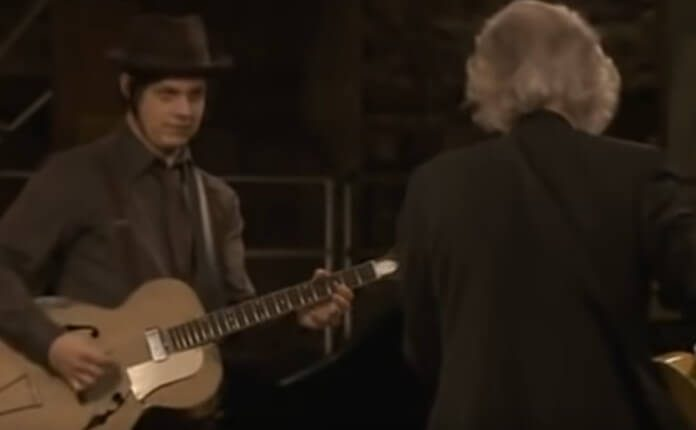Jack White e Jimmy Page