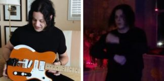Jack White mostra guitarra em vídeo do Raconteurs