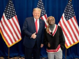 Lil Wayne com Donald Trump