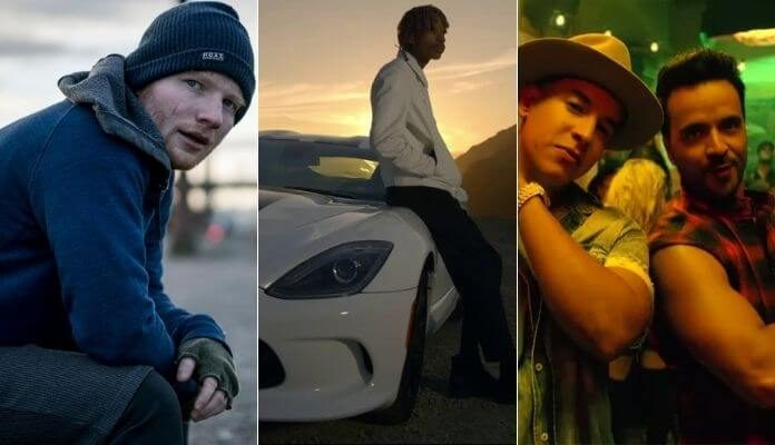 Os 10 clipes mais vistos do YouTube
