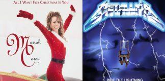 Metallica e Mariah Carey juntos em mashup de Natal