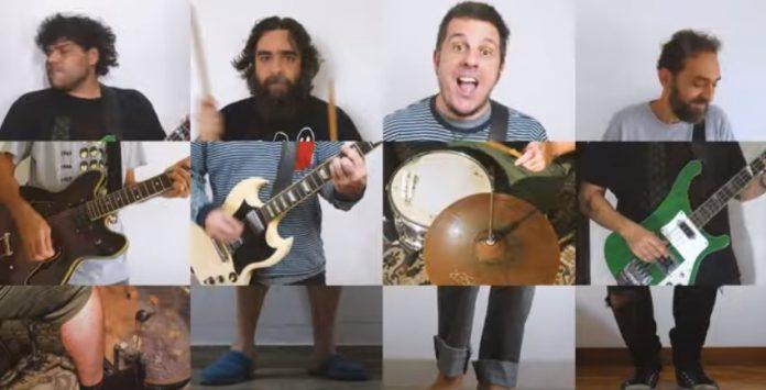 """Melvin & os Inoxidáveis no clipe de """"Remédios Falsos"""""""