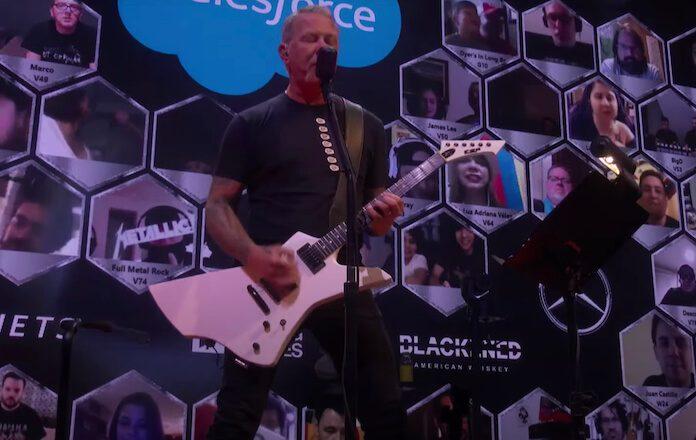 Metallica em live beneficente