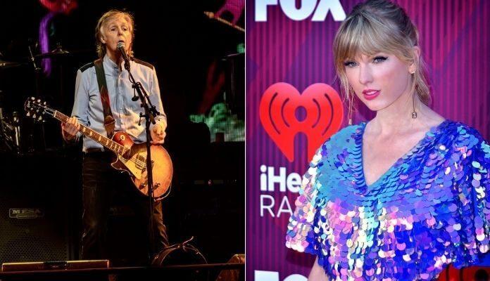 Paul McCartney e Taylor Swift
