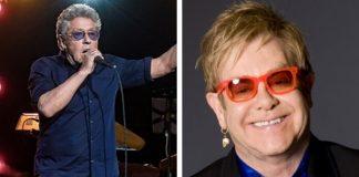 Roger Daltrey e Elton John