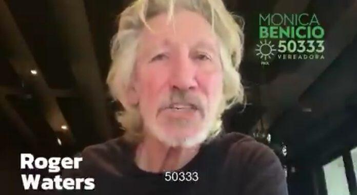 Roger Waters declara apoio a Monica Benicio