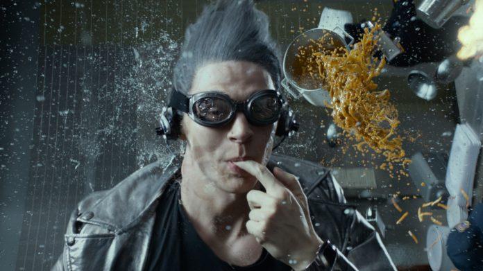 cena de slow motion em x-men