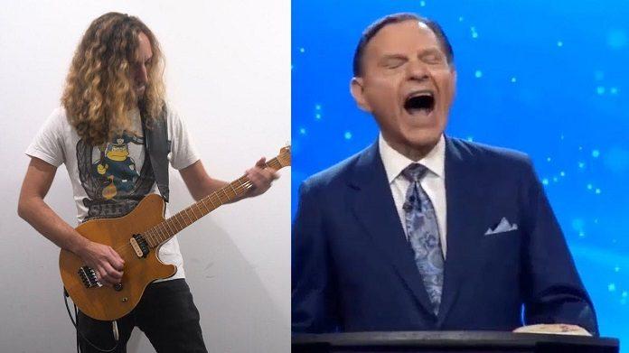 Televangelista tem risada transformada em canção de metal