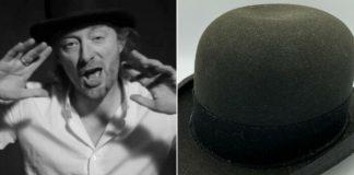 Thom Yorke e o chapéu de Lotus Flower