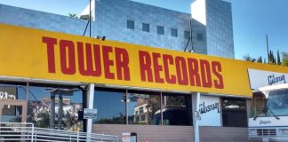 Tower Records em Los Angeles
