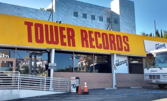 Tower Records em Los Angeles