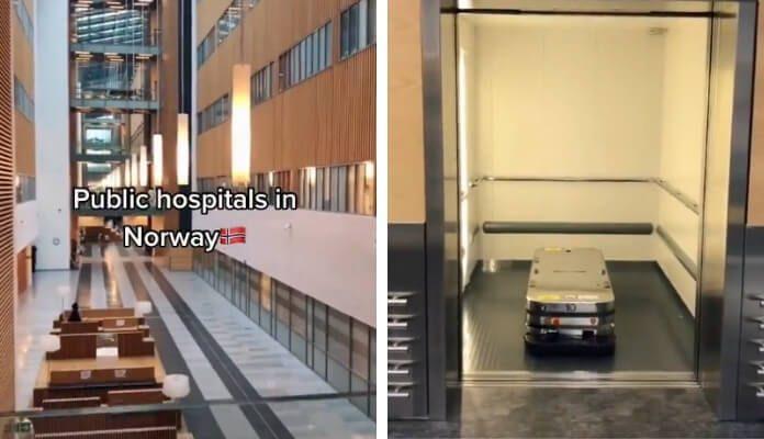 Vídeo de Hospital na Noruega