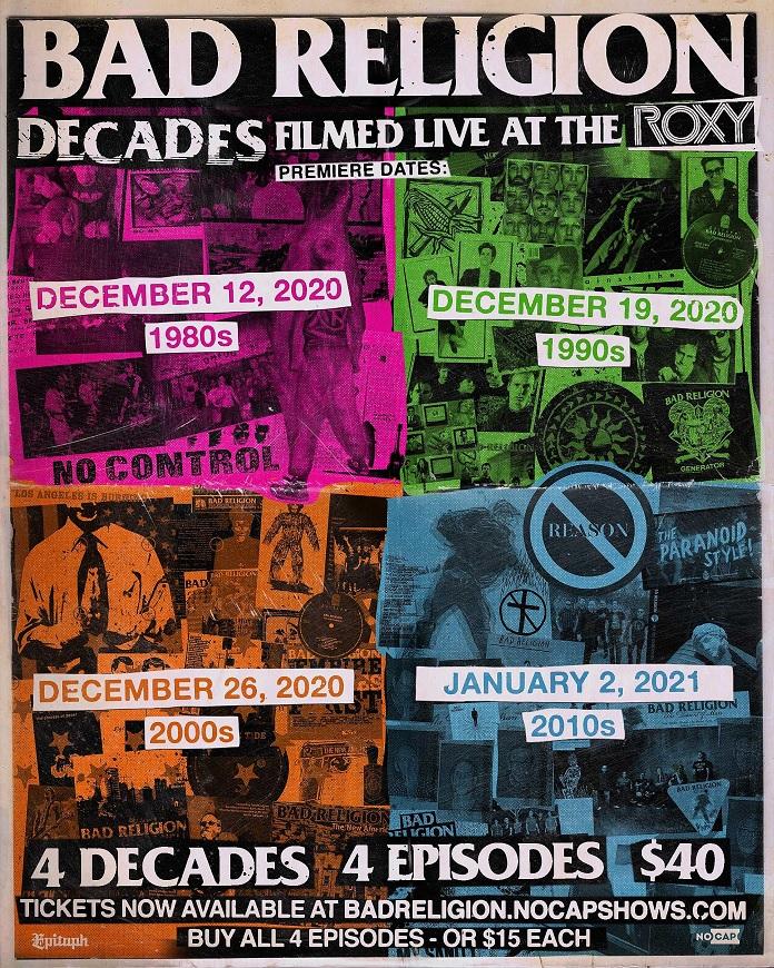 Bad Religion Show 40 anos
