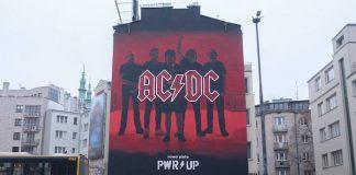 Mural do AC/DC na Polônia