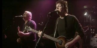 Paul McCartney e David Gilmour no Cavern Club