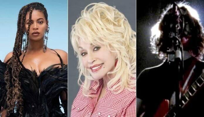 Beyoncé, Dolly Parton e The White Stripes