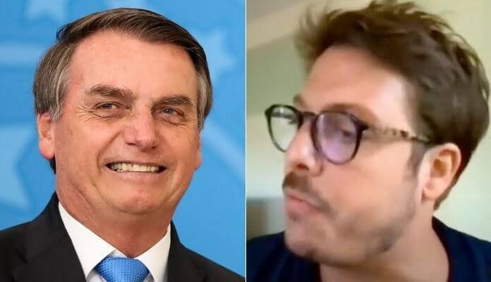 Jair Bolsonaro e Fabio Porchat