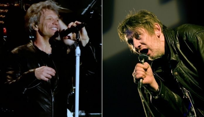 Bon Jovi e Shane MacGowan (The Pogues)