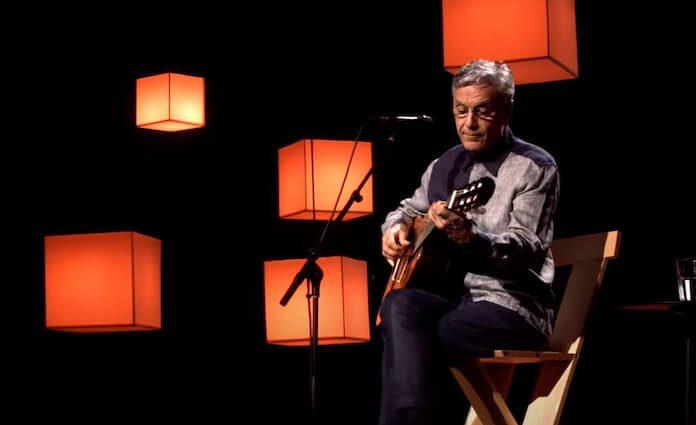Caetano Veloso em live de Natal