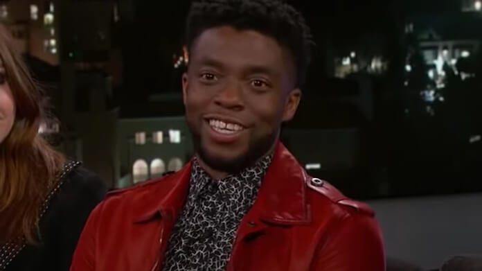 Chadwick Boseman em entrevista