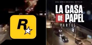 Internet compara assalto em Criciúma a La Casa de Papel e GTA