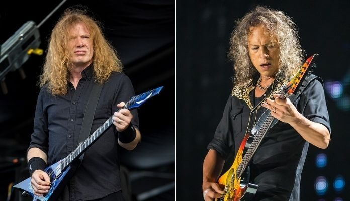 Dave Mustaine e Kirk Hammett