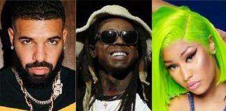 Lil Wayne vende músicas de Drake e Nicki Minaj em acordo com a Universal