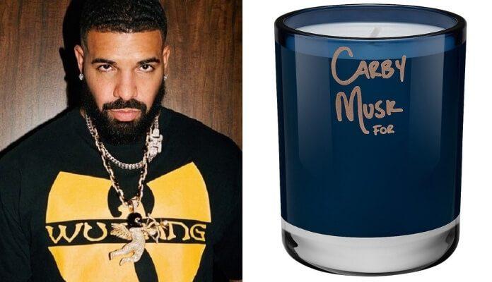 Drake lança vela com seu aroma