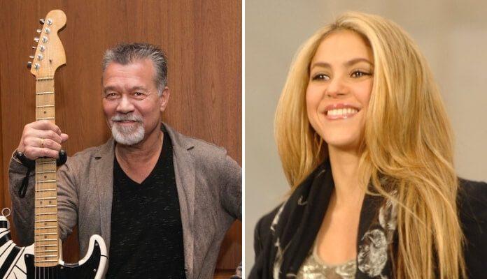 Eddie Van Halen e Shakira