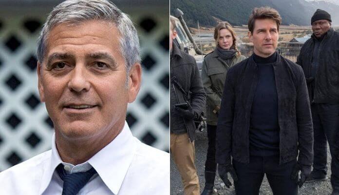 George Clooney e Tom Cruise
