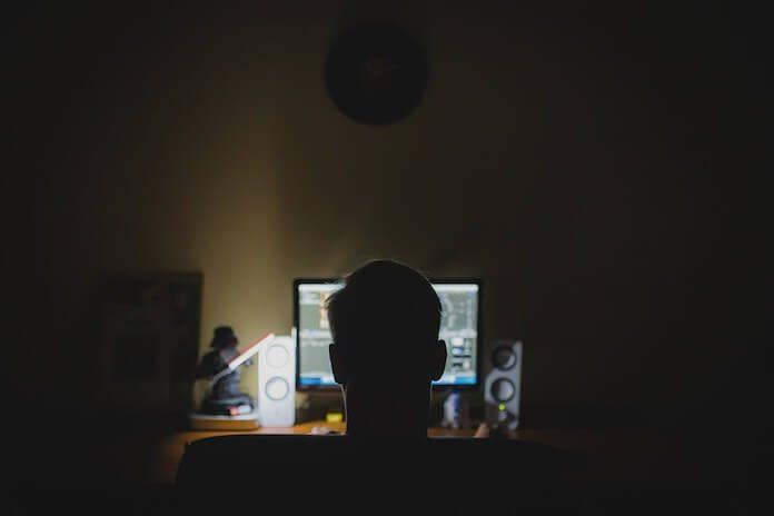 Hacker, foto stock