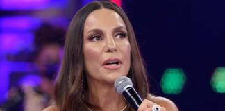 Ivete Sangalo no Domingão do Faustão