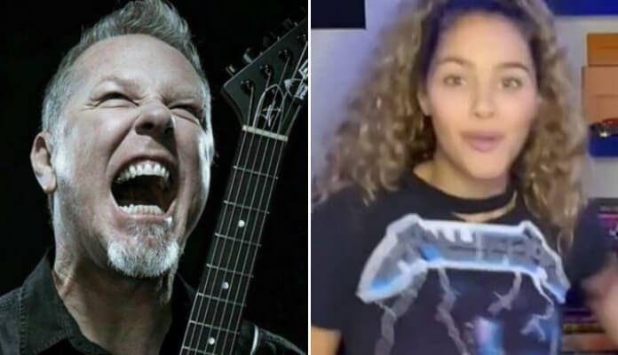 Metallica e Zaria no TiKTok