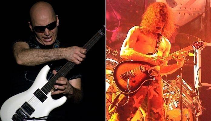 Joe Satriani e Eddie Van Halen