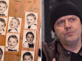 Foto de passaporte de Lars Ulrich