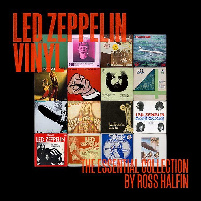 Ross Halfin publica livro documentando sua coleção de vinis do Led Zeppelin