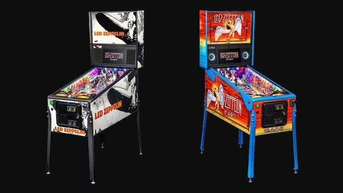 Máquinas de pinball do Led Zeppelin
